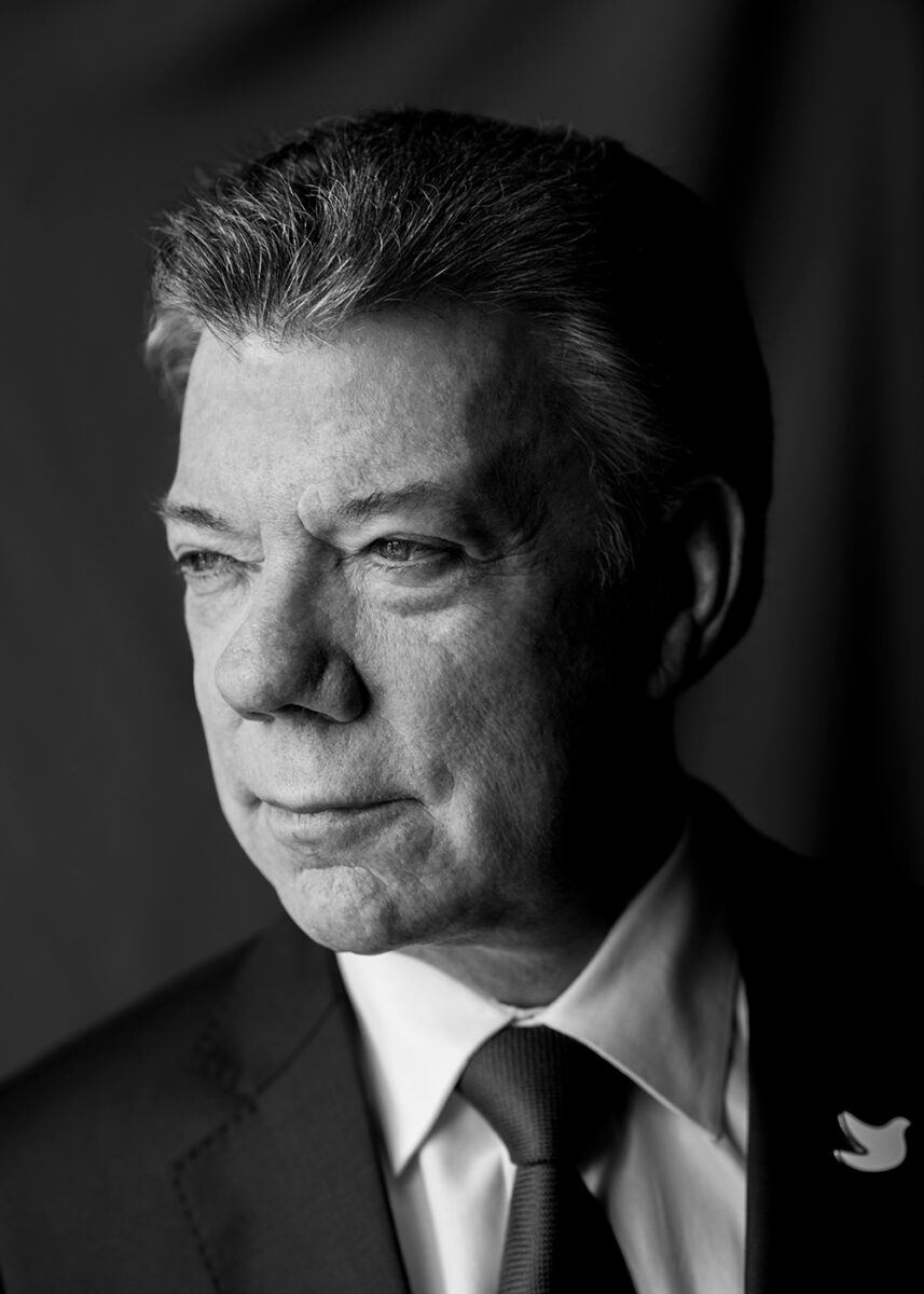 Juan Manuel Santos presidente de colombia