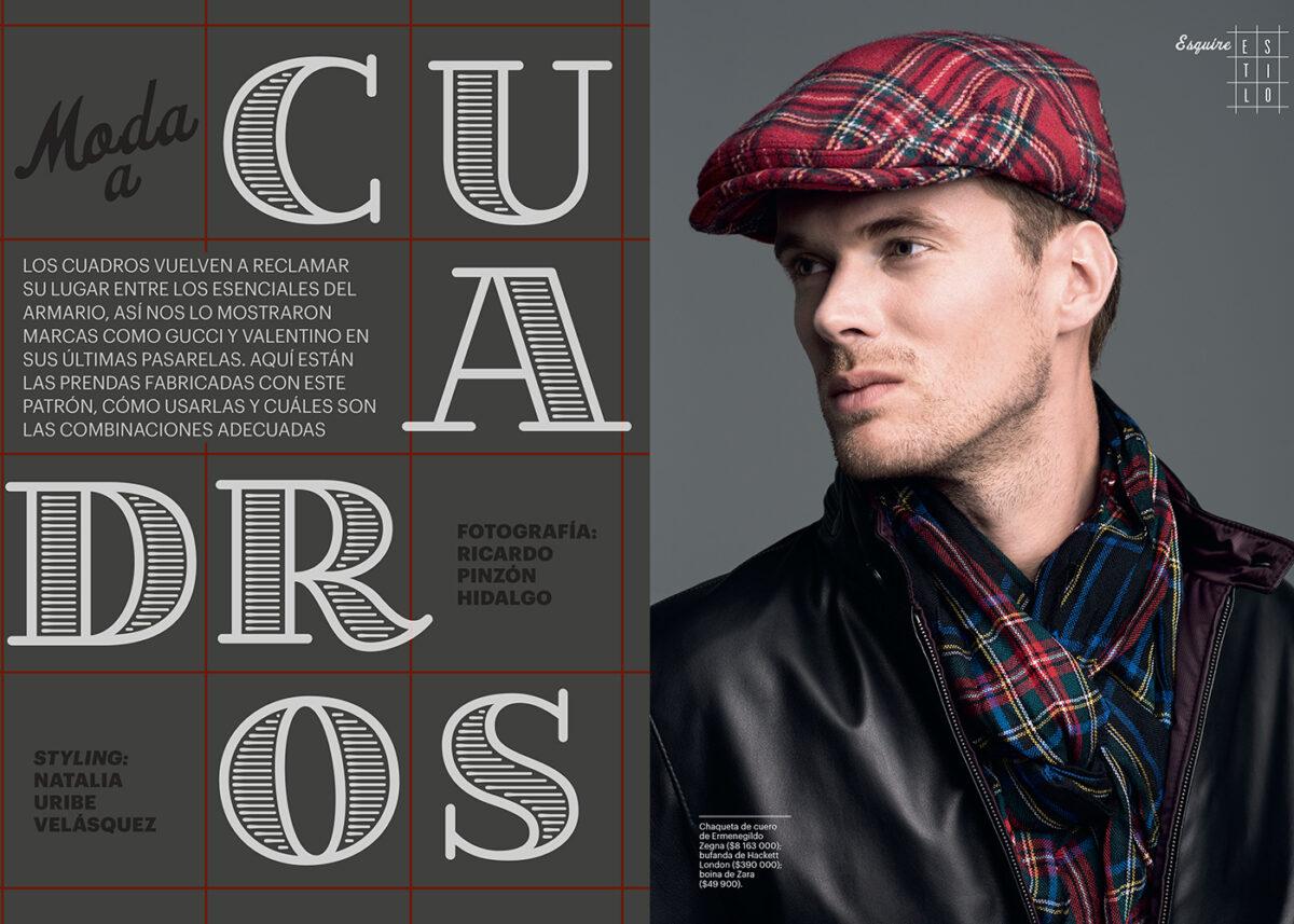 editoral moda esquire colombia ricardo pinzon
