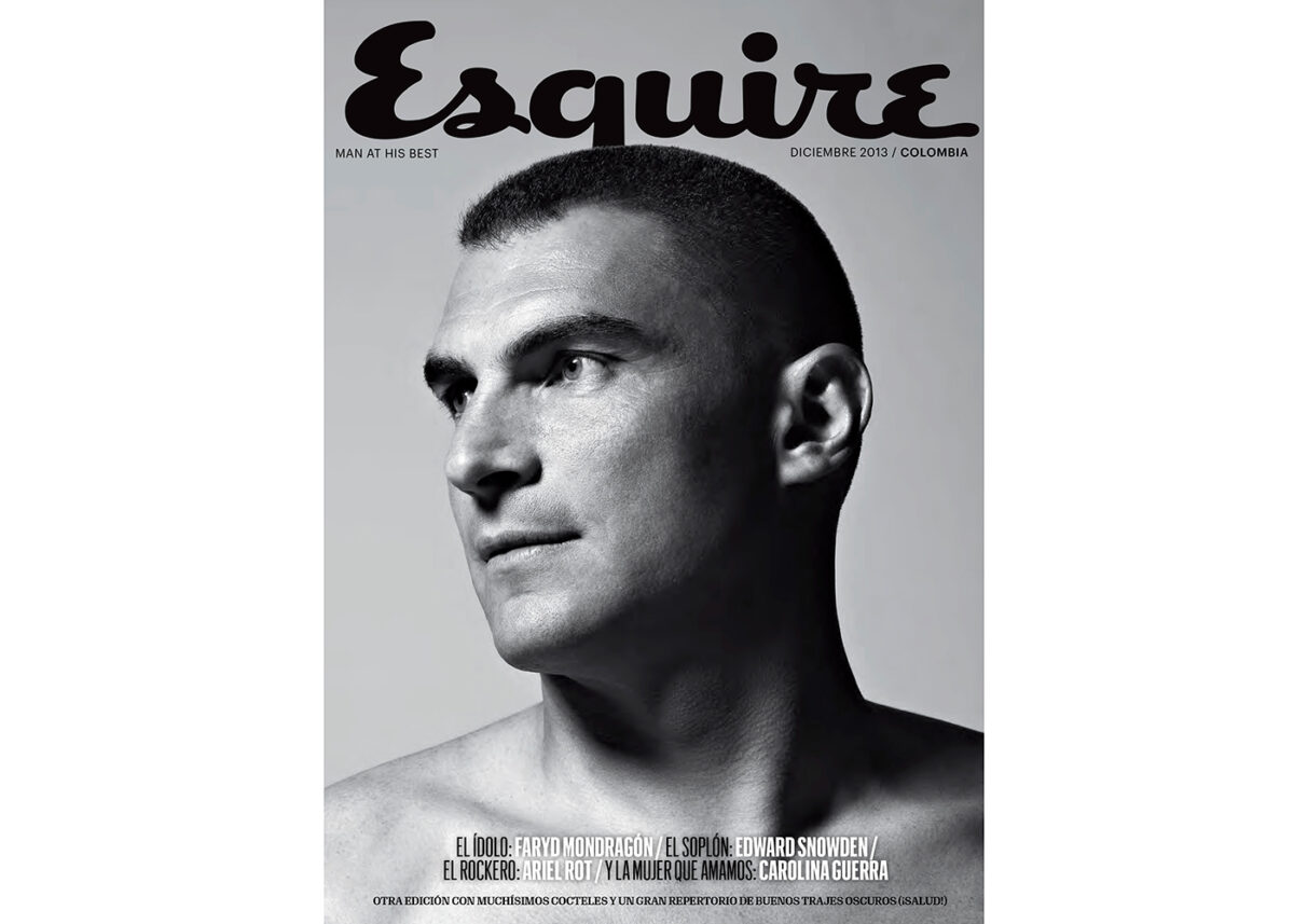 Esquire colombia cover by ricardo pinzon colombian photographer