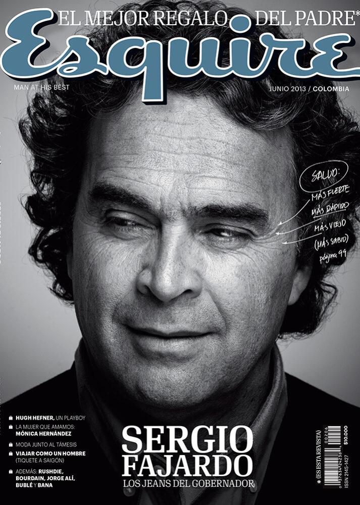 Sergio Fajardo Esquire Cover