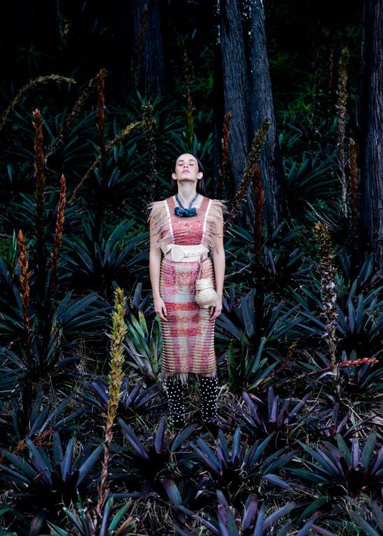 Fashion editorial with Catalina Garcia/Madame Perine for Fucsia Magazine Colombia 1
