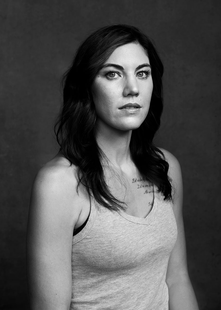 hope solo by ricardo pinzon photographer