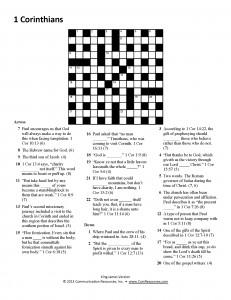 07-1 Corinthians Puzzle