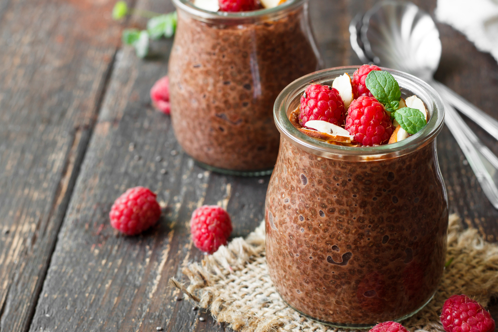 Chocolatey Chia Immune Smoothie