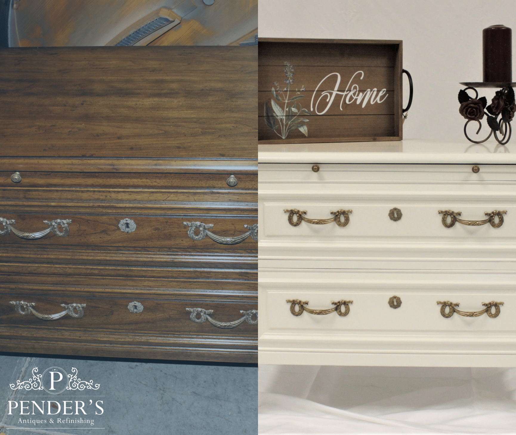 Lacquer Chest completed by Penders