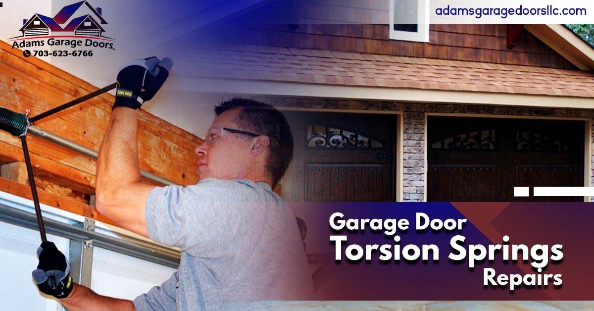 Ensure Safety and Functionality of Your Garage with Garage Door Torsion Spring Repair in Annandale
