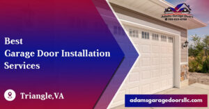 Garage Door Installation Services Triangle