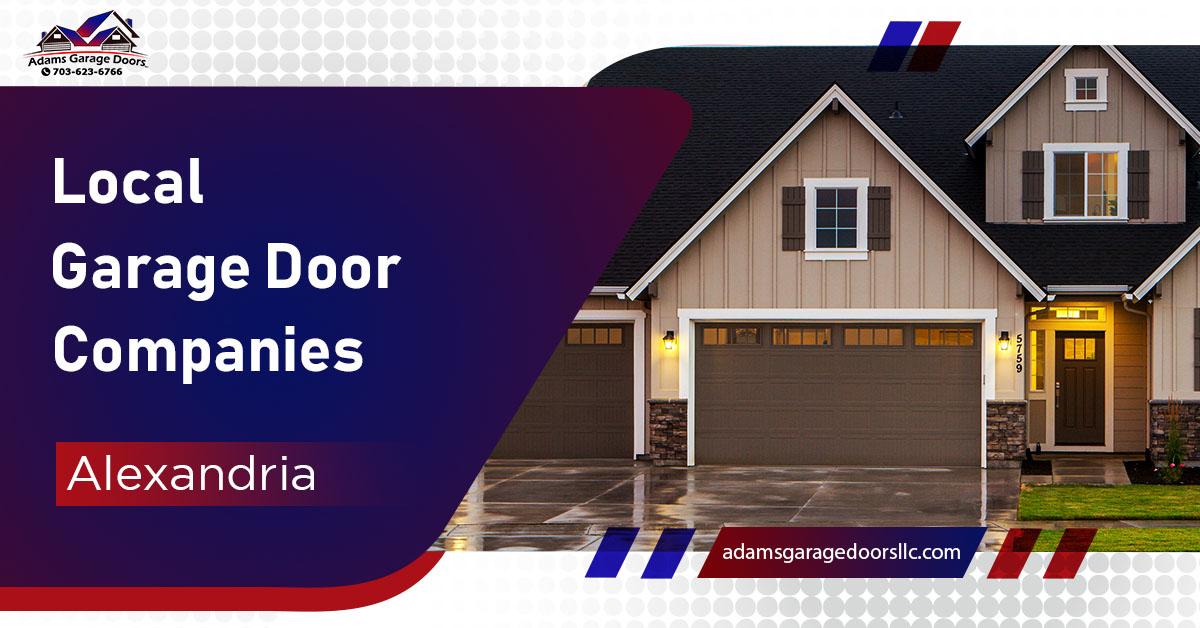 Local Garage Door Companies Alexandria