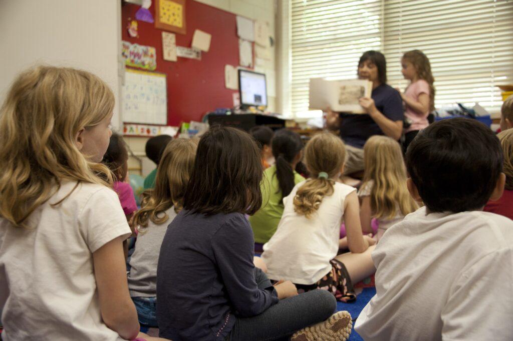 Children in a room