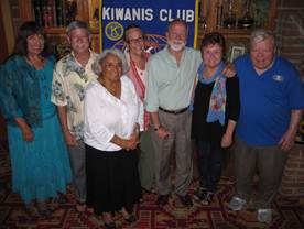 Kiwanis Club of RHE members