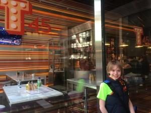 Seth at T54 restaurant