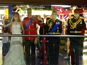 Hamley's - Royal Family in LEGO