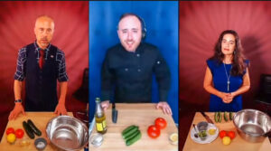 American Dreams cast: cooking challenge