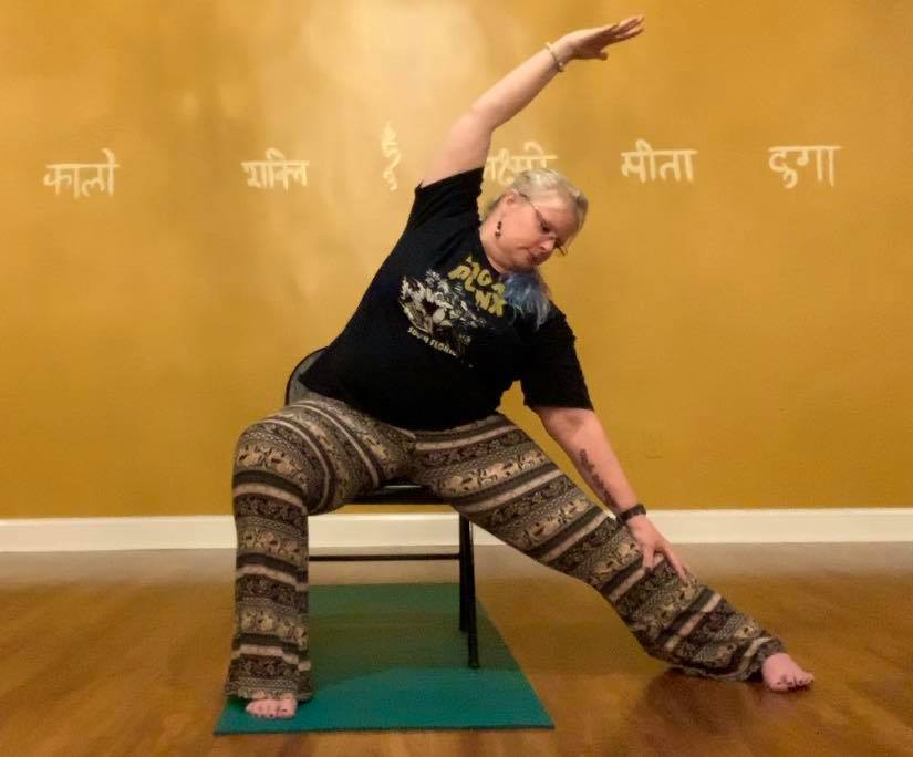 Chair Yoga: Sequence to Warmup Spine and Increase Flexibility (12:59)