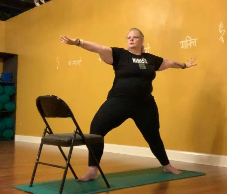 Chair Yoga: Warrior 1, 2 & 3 (32:03)