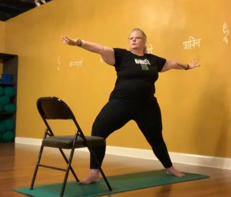 Chair Yoga: Warrior 1, 2 & 3 (32:03)