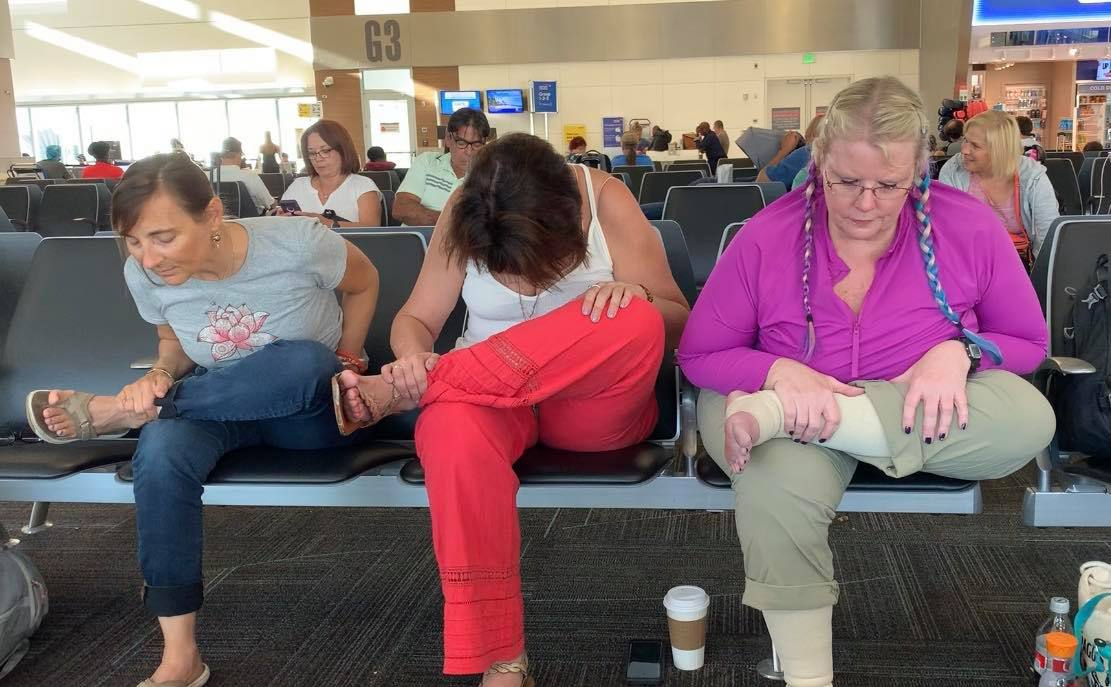 Airport Chair Yoga (11:04)