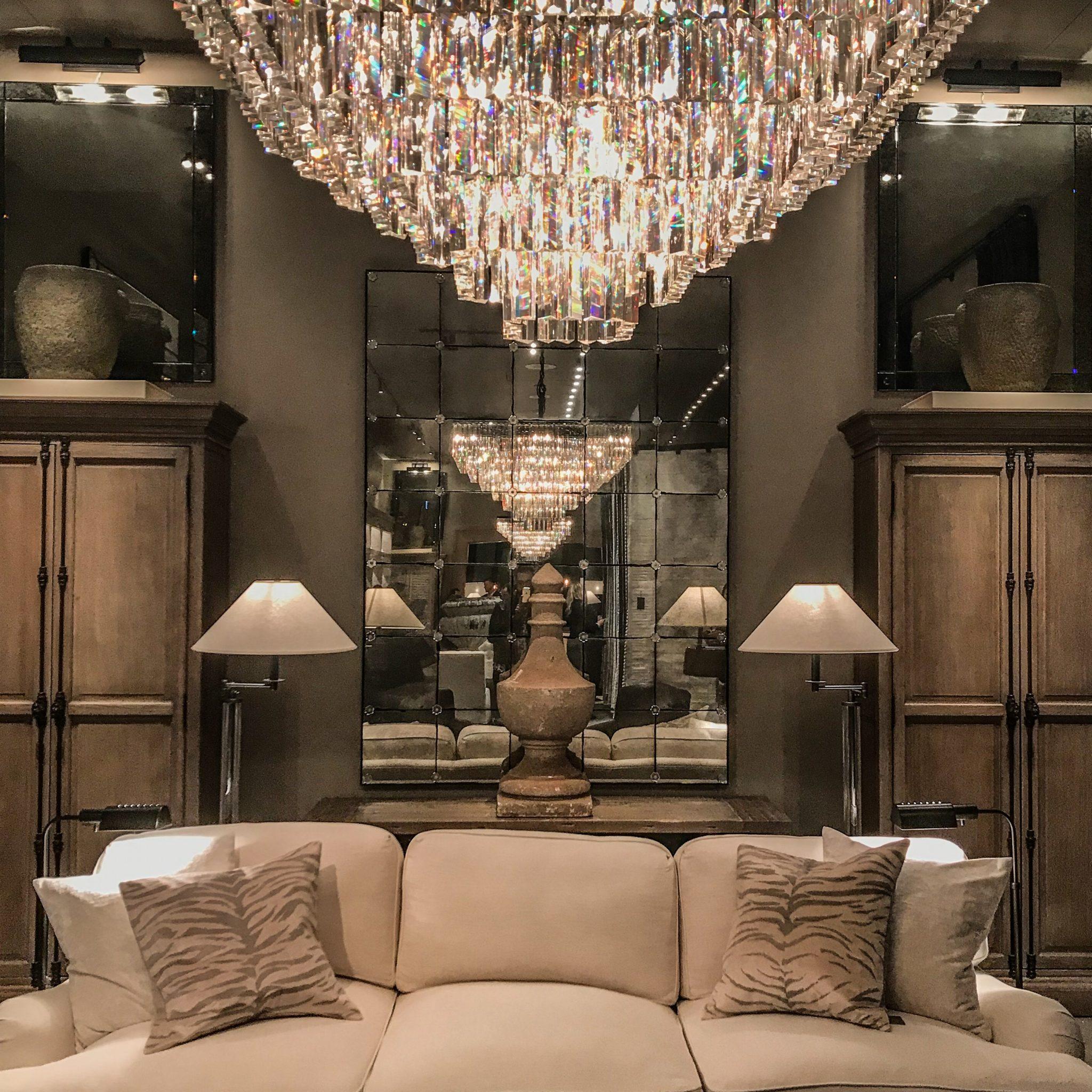 Restoration RH Furniture - Living Room
