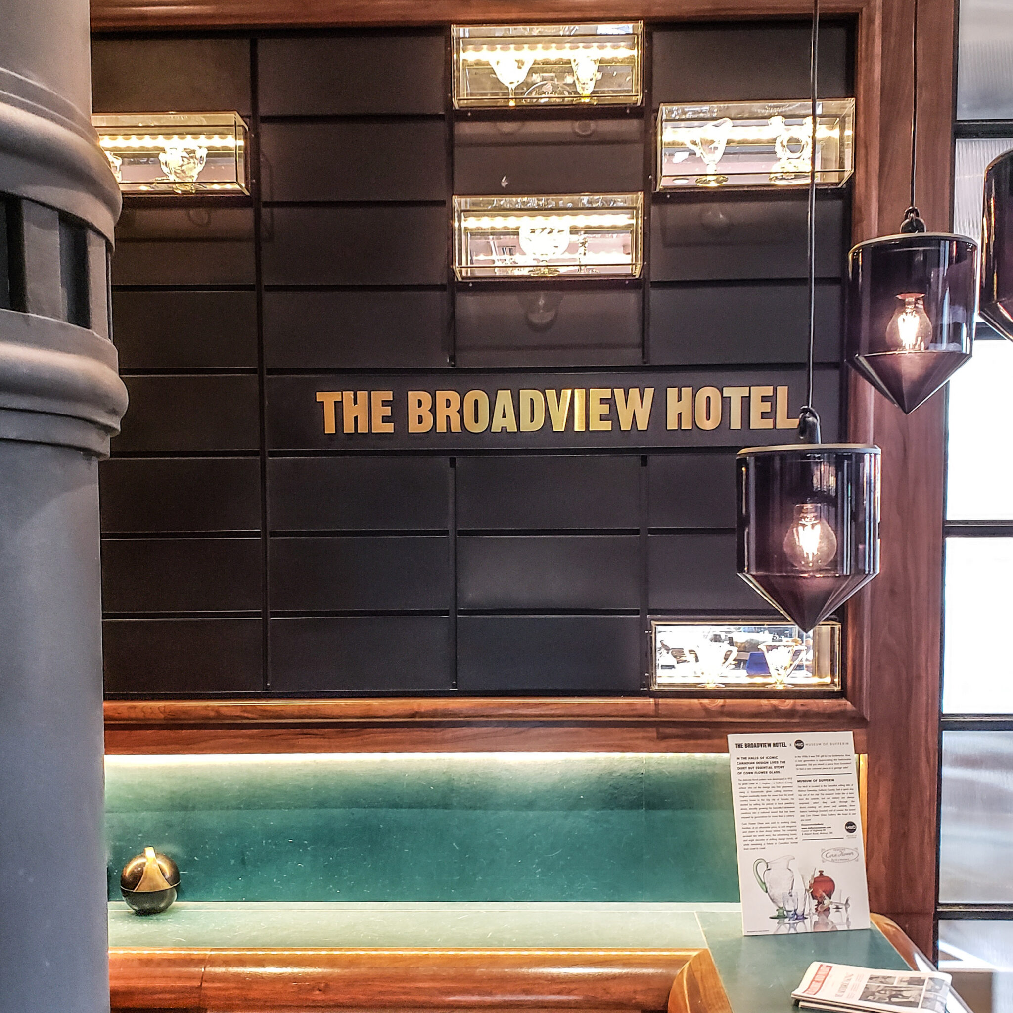 The Broadview Hotel - Broadview Hotel - Queen East - Toronto East - Toronto Life - Boutique Hotel - Front Desk