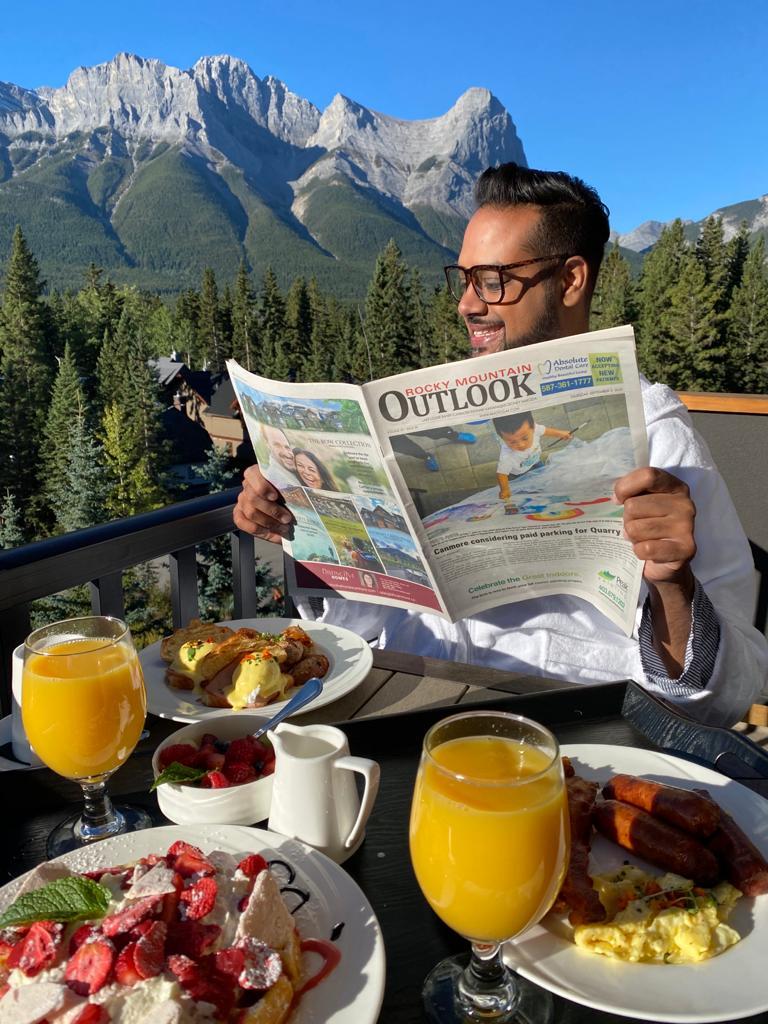 Hotel Malcolm Canmore Alberta - Canadian Rockies - Breakfast