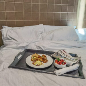 Hotel Malcolm Canmore Alberta - Canadian Rockies - Breakfast in Bed