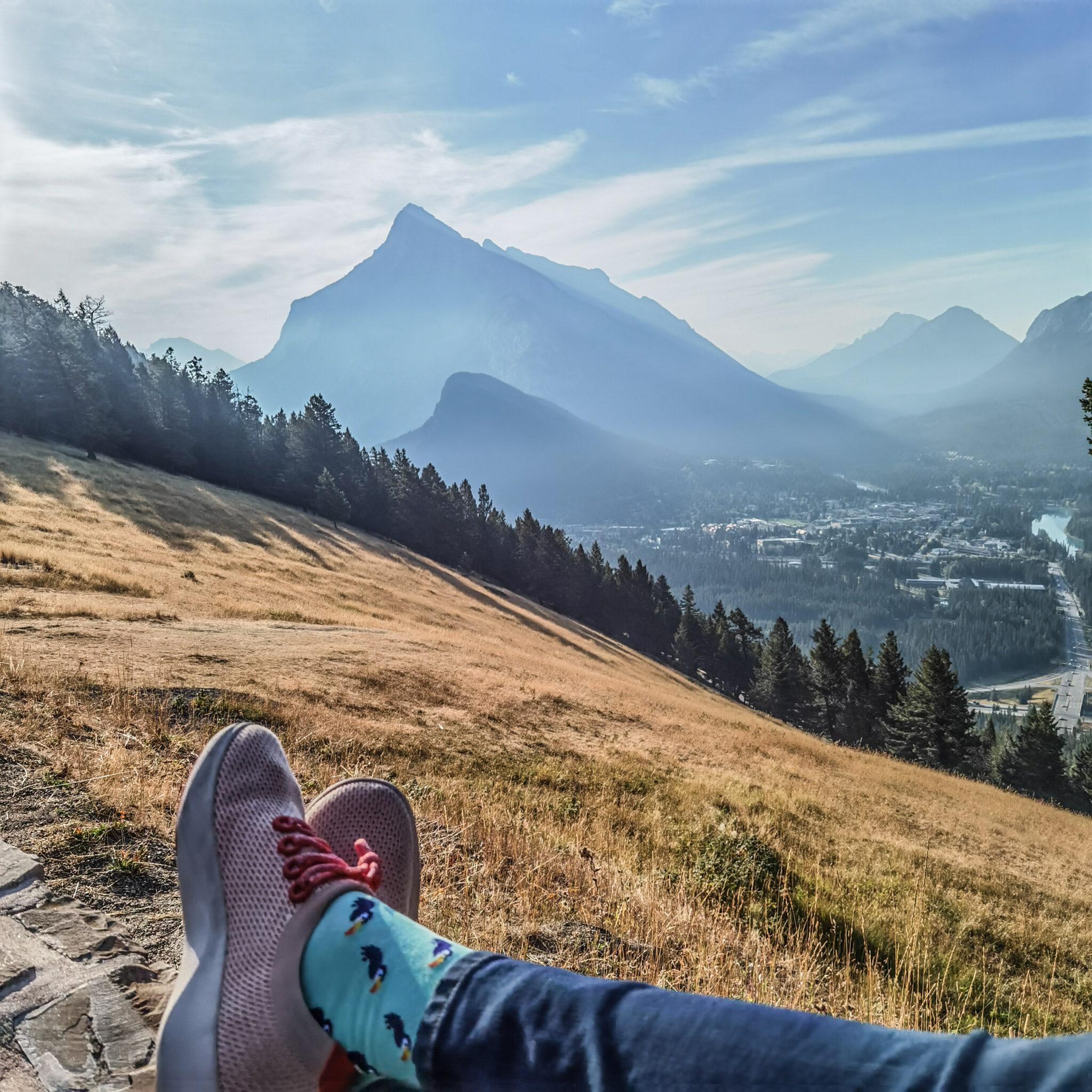 Mount Royal Hotel - Pursuit - Banff - Canadian Rockies - Open Top Touring - Allbirds