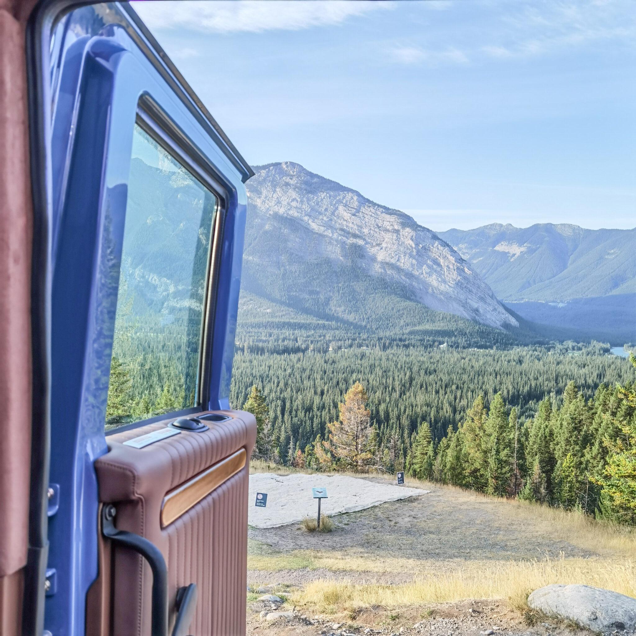 Mount Royal Hotel - Pursuit - Banff - Canadian Rockies - Open Top Touring - Open Door to Nature