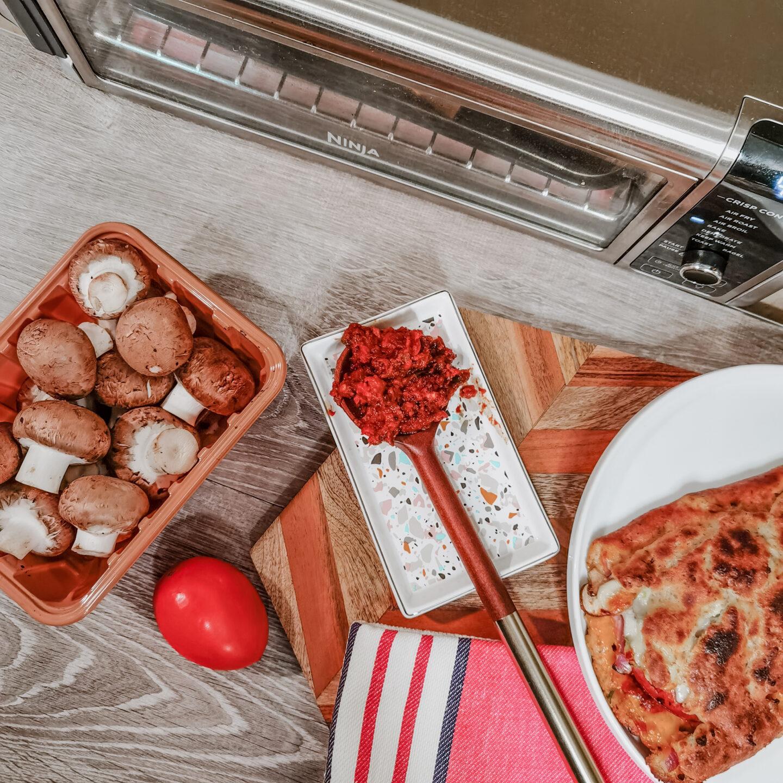 Ninja Foodi Digital Air Fry Oven - Stromboli - Recipe - Homemade