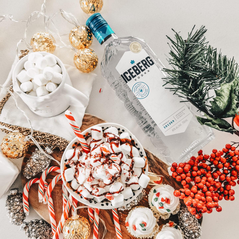 Iceberg Vodka Canada - Holiday Cocktail - Holiday Vodka Hot Chocolate