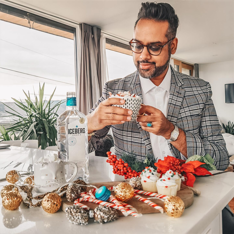 Iceberg Vodka Canada - Holiday Cocktail - Holiday Vodka Hot Chocolate - Christmas Drinks