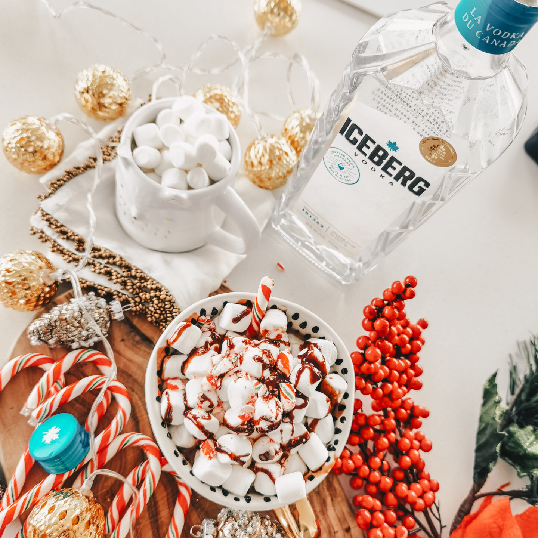 Iceberg Vodka - Holiday Cocktail - Vodka Hot Chocolate