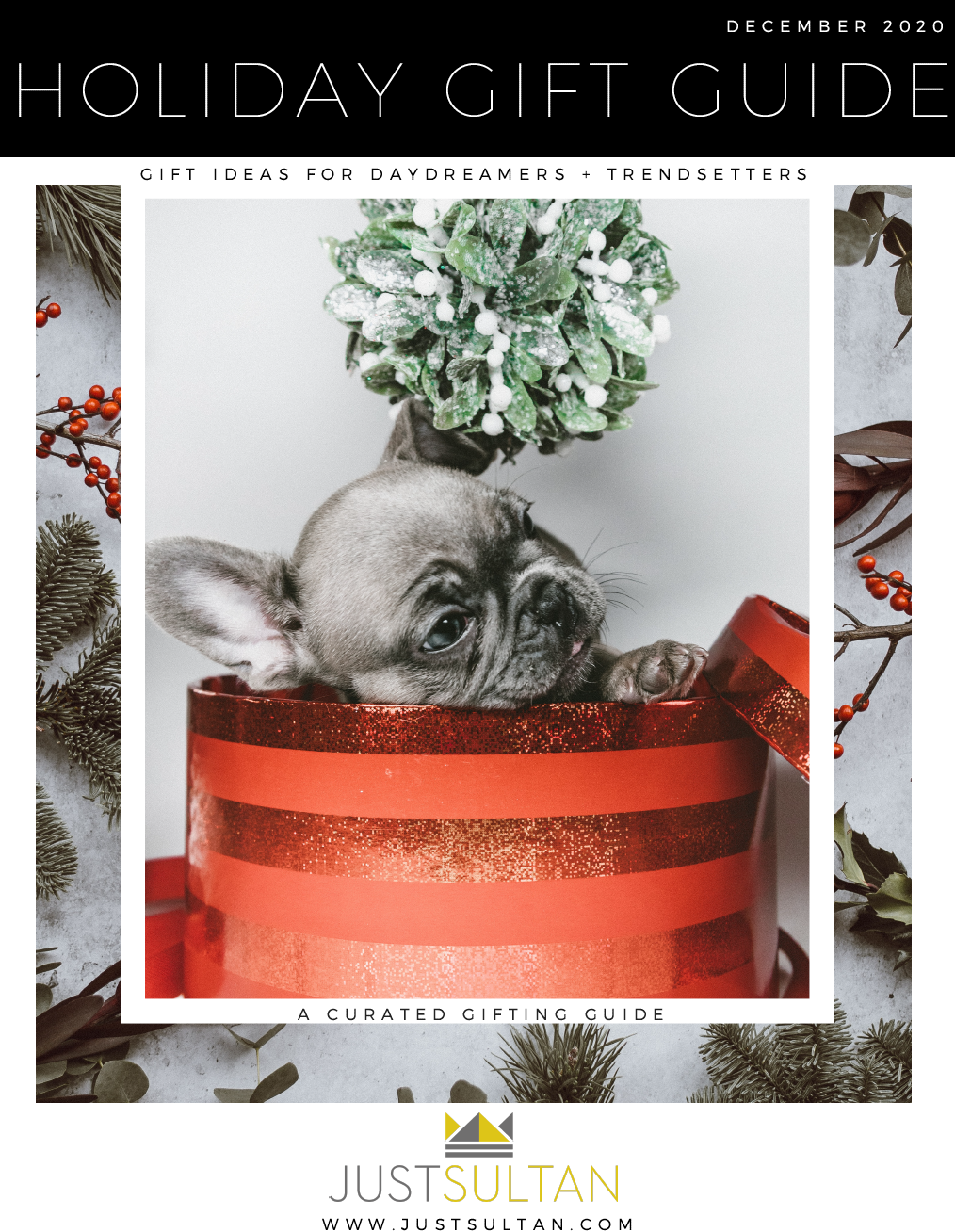 Just Sultan Holiday Gift Guide 2020
