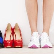 Bad footwear can cause back pain