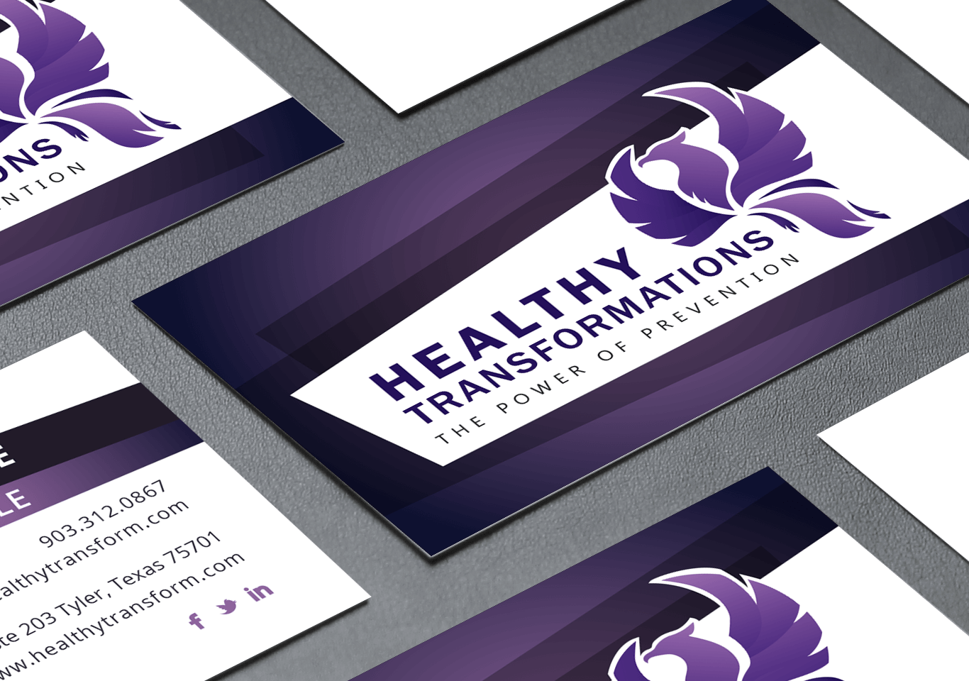 Healthy Transformations Business Cards