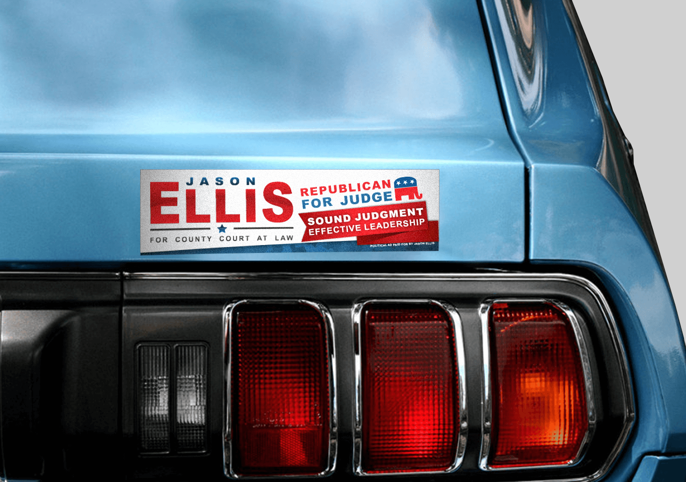 Jason Ellis Bumper Sticker