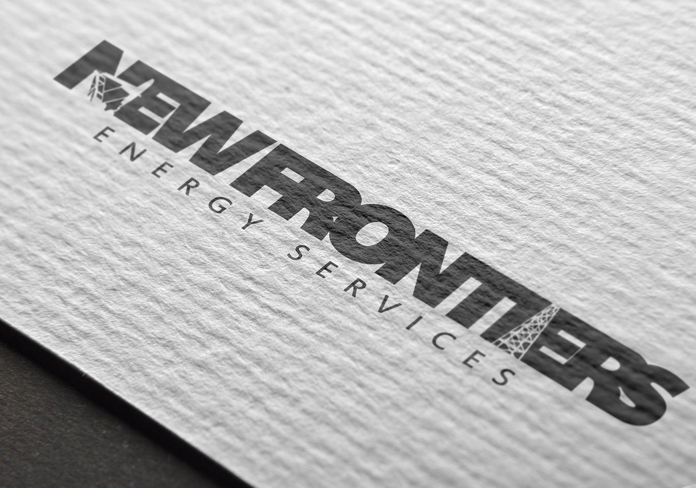 New Frontier Energy Services Branding