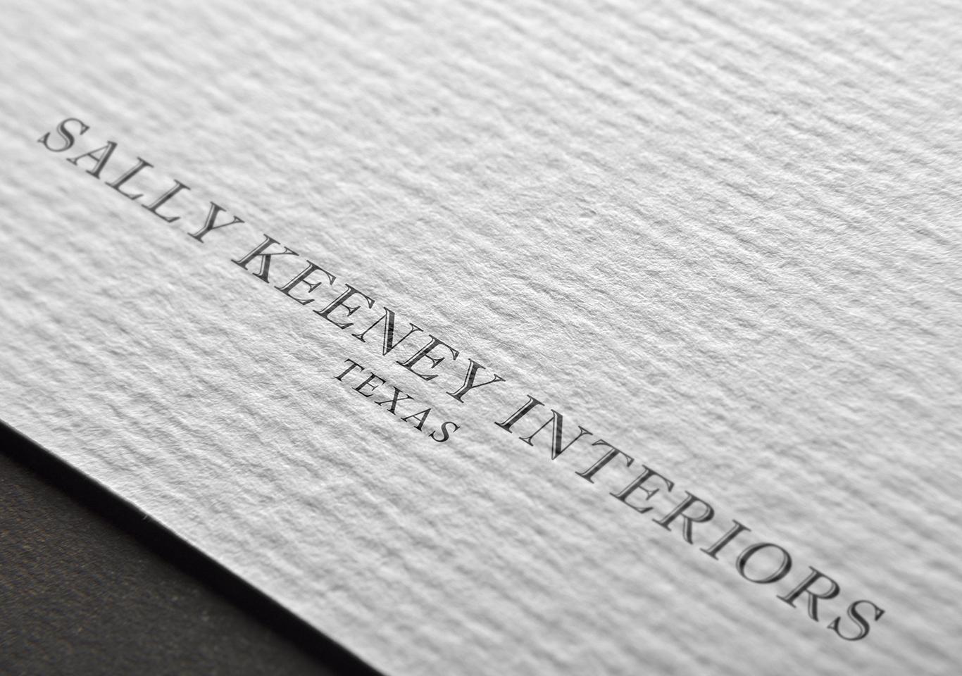 Sally Keeney Interiors Branding