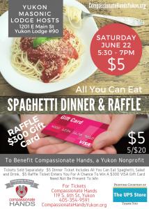 Spaghetti Dinner & Raffle @ Yukon Masonic Lodge