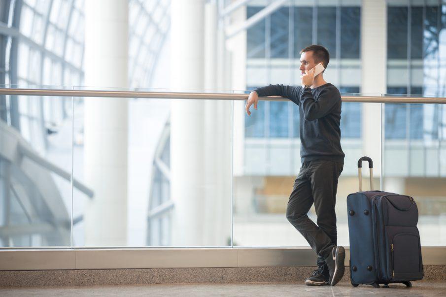 O que fazer se você perder uma conexão de voo?