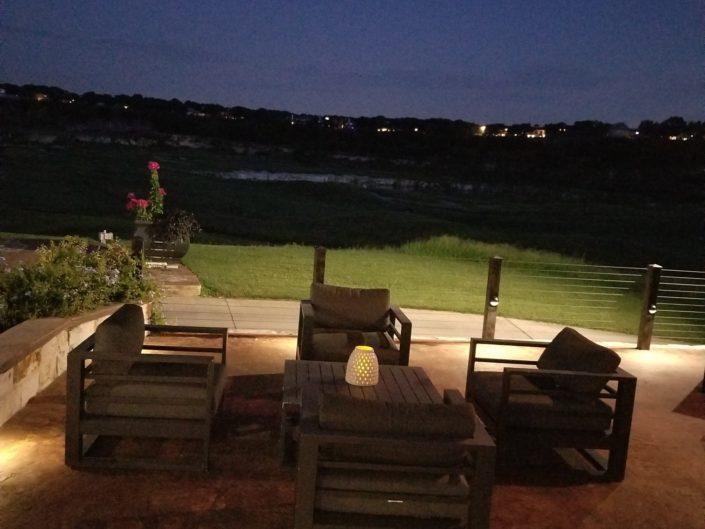 Quarry Golf Course Cementville Grill Patio