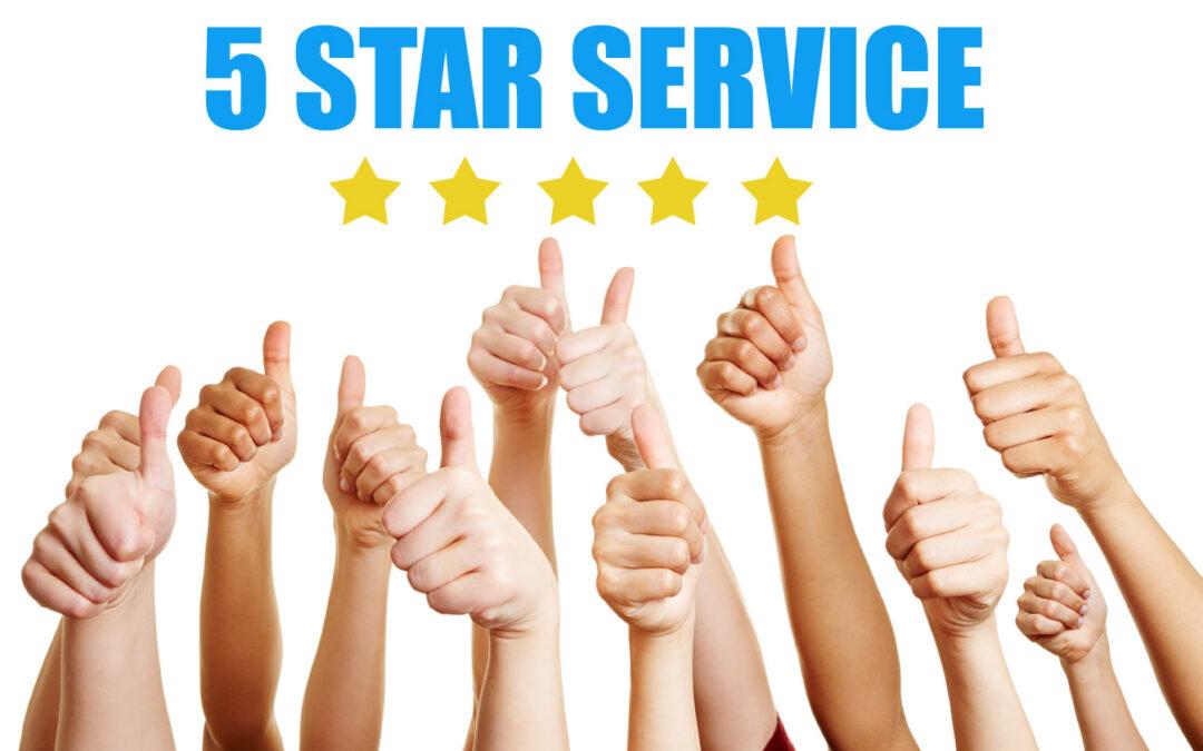 5 Star Service Testimonial – Jeff Morris