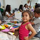 Las Ninas working with patients in Calexico