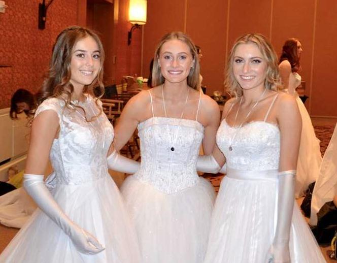 Madeline Babros, Emily Levin and Adelaide Brannan. (Photo courtesy of Las Madrecitas)
