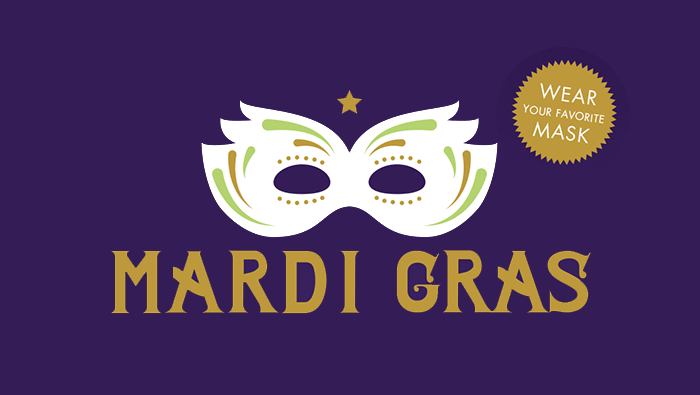 Mardi Gras Fall Fundraiser Invitation & RSVP