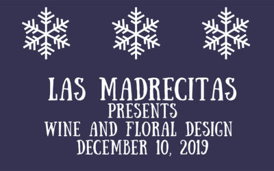 Wine and Floral Design | December 10, 2019