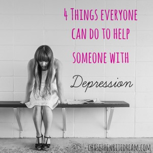 help someone with depression