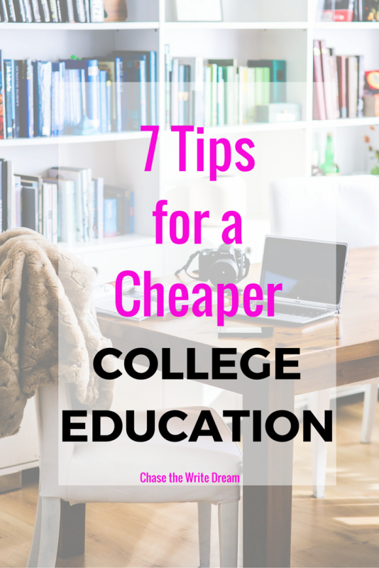 Reduce college costs with these 7 tips! If you are looking for ways to save money on your college education, then make sure you read this post! There are tons of great tips for students in this.