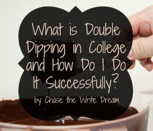 what is double dipping in college