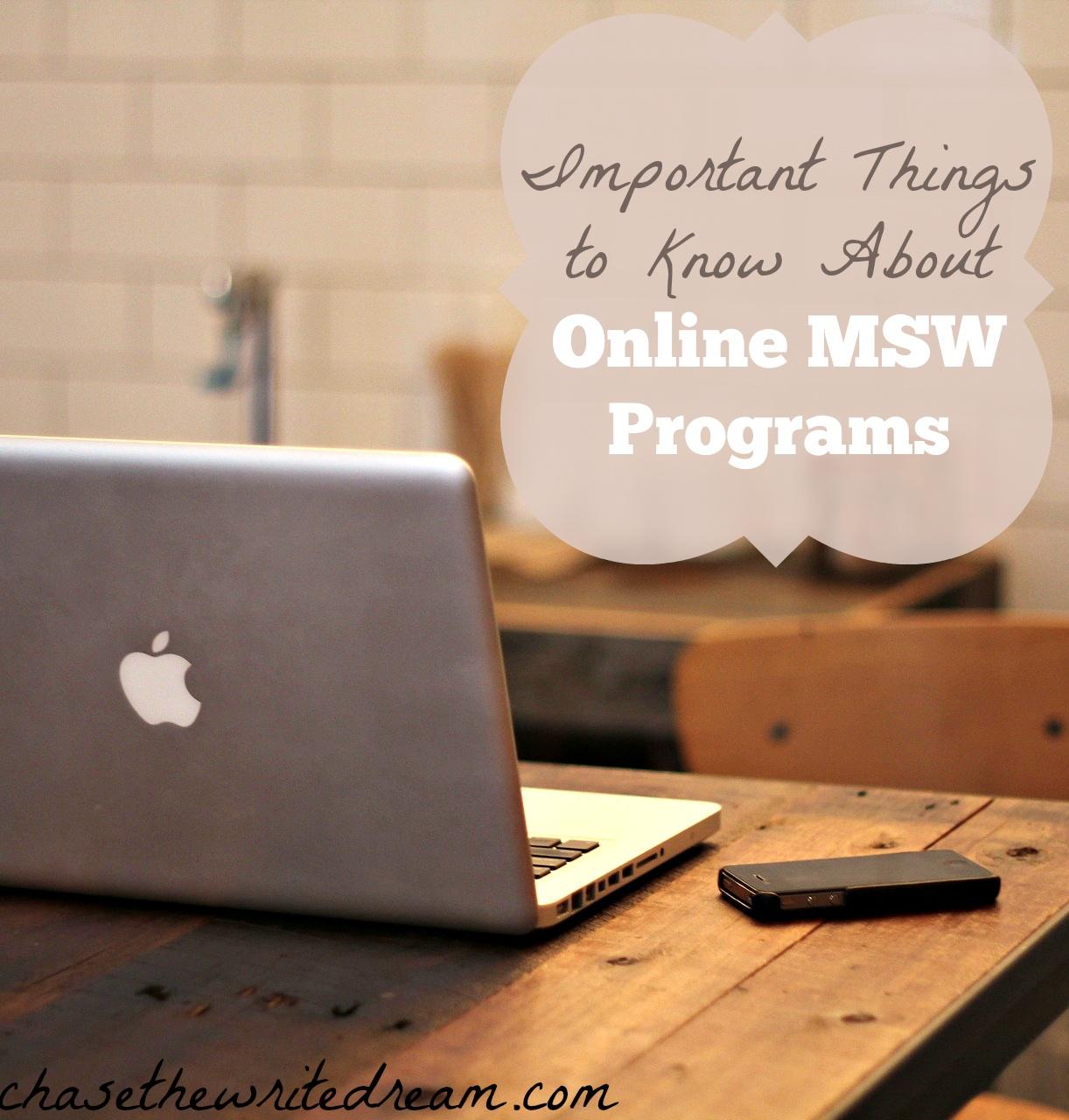 online MSW programs