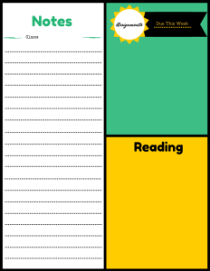 free printable for students